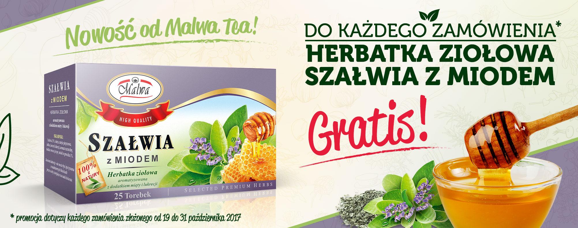 MalwaTea - Nowość! Szałwia z Miodem - GRATIS