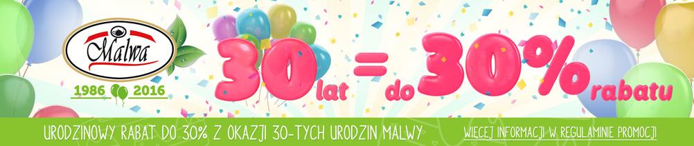 30-te Urodziny Malwy